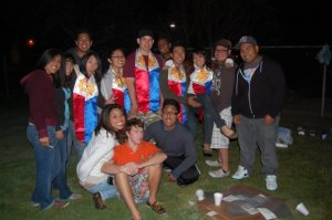 Oh man this is Maharlika club in 2009, I am so racist for wearing a Filipino flag stole that was given to me by members for graduation.